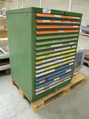 Ladenkast voor gereedschap