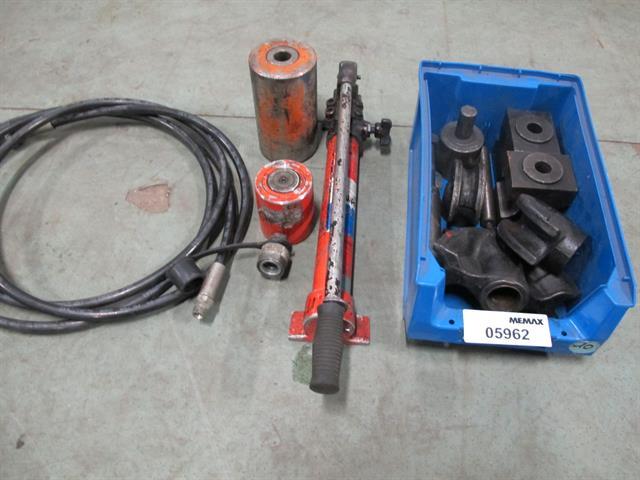 Hydraulische pers gereedschap