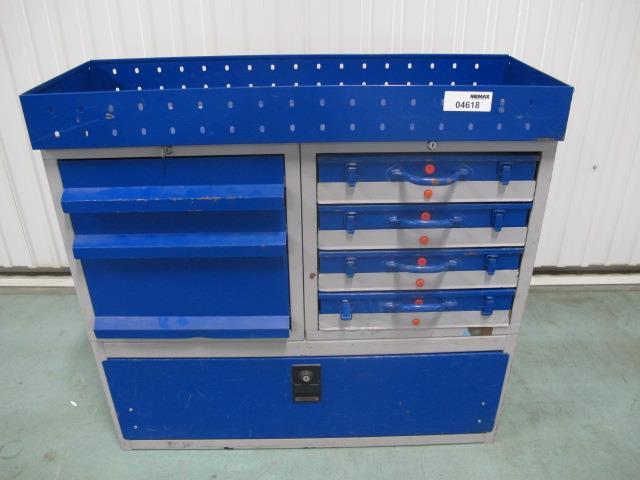 Kast Voor Gereedschap : Kast tbv bedrijfswagen 1020x380xh960 3xlade 4xkoffer lade memax