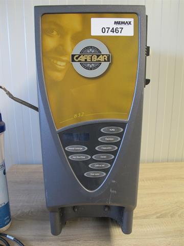 Ongebruikt koffie automaat Cafebar 832 - Memax, Online veiling van metaal NM-58