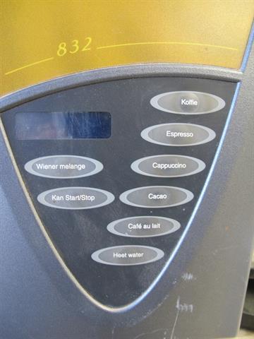 Wonderbaarlijk koffie automaat Cafebar 832 - Memax, Online veiling van metaal QQ-55