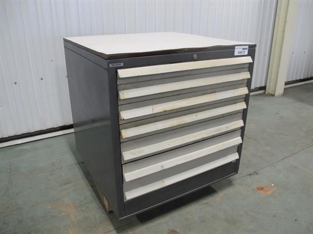 Metalen Ladenkast Voor Gereedschap.Ladekast Ahrend Met 7 Lades Memax Online Veiling Van
