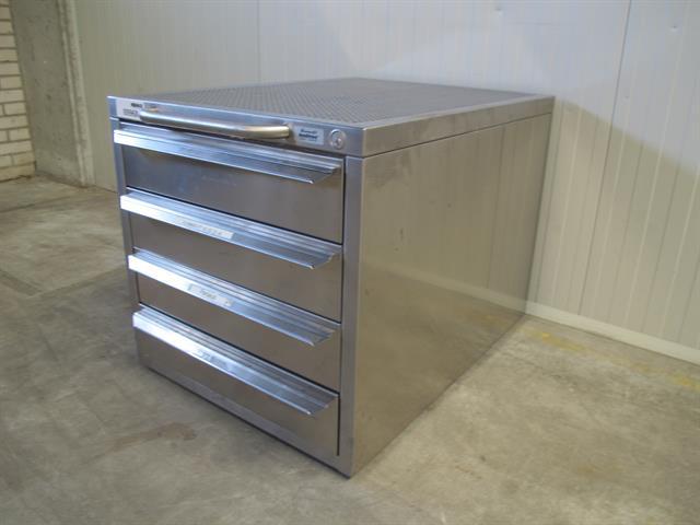 Metalen Ladenkast Voor Gereedschap.Ladekast Van Rvs Memax Online Veiling Van Metaal