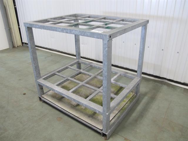 Opslag rek voor staand materiaal memax online veiling van metaal machines en gereedschap - Opslag voor dressing ...