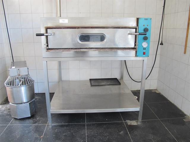 pizza oven incl. RVS onderstel