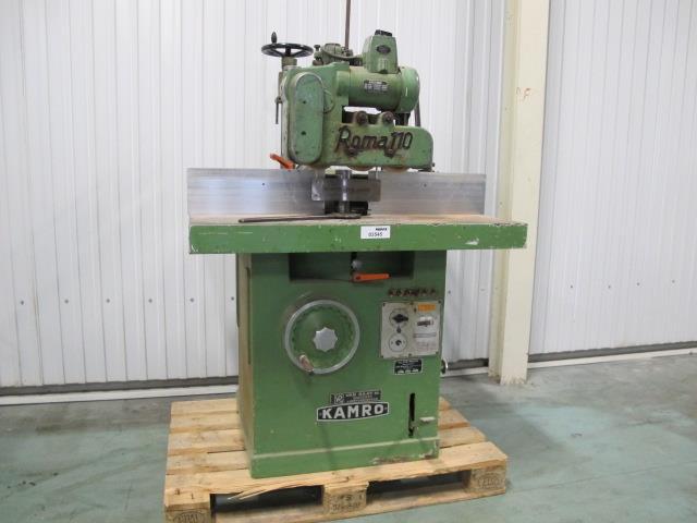 Welp ROMA 110 freesmachine t.b.v. hout - Memax, Online veiling van WT-46