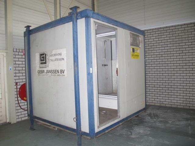 Wasbak 1 Meter : Toilet douchecontainer met wasbak cv boiler toilet en douche