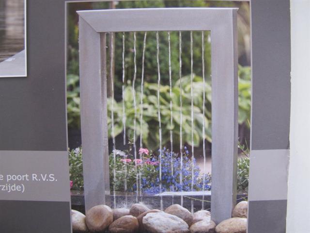 Waterornament rvs memax online veiling van metaal for Waterornament tuin